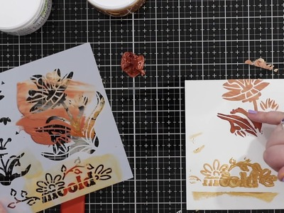 Beginners Mixed Media: Modeling Paste vs Gesso, when to use them, how and best ways to apply them
