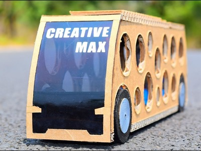 DIY Future High Tech Bus | How To Make Luxury Bus |