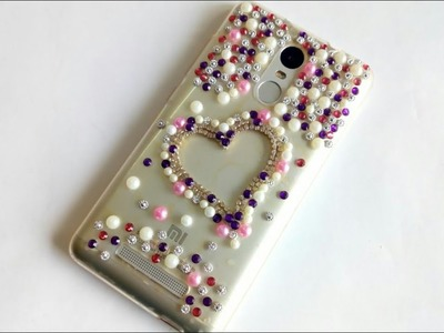DIY | How to make Mobile Cover at home | Mobile cover design. decoration