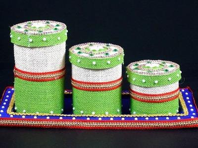 Diy Jewellery Organizer.Holder | How to Make Set of Jewellery Holder | Recycled Plastic Bottles