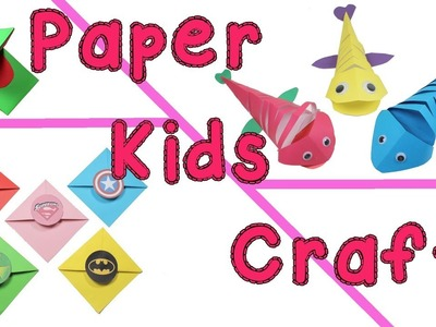DIY Kids Paper Ideas - Cute And Easy Craft Projects