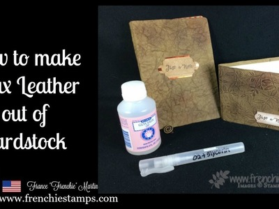 DIY Paper Leather
