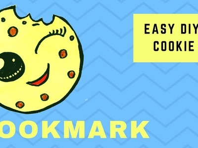 Easy Cookie Bookmark - How to make an origami bookmark - Hand made