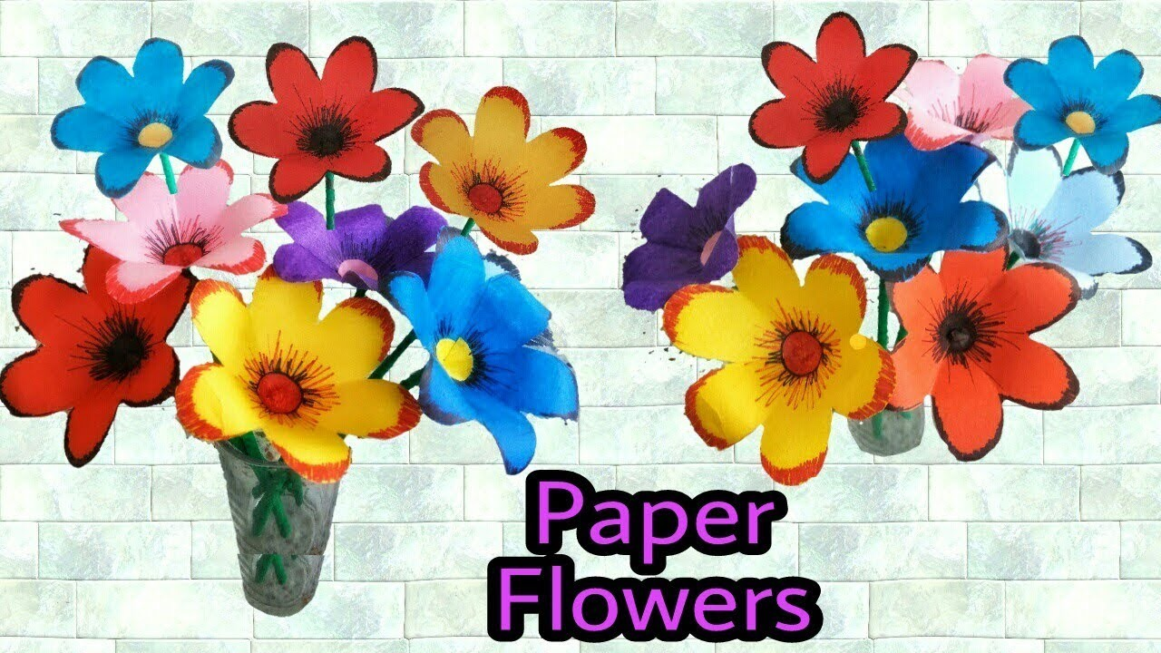 Origami Paper Flowers Instructions Flowers Healthy