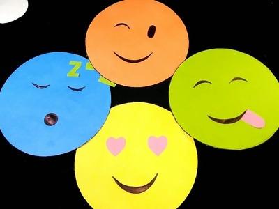 Emoji paper wallmate  crafts- কাগজের ওয়াল্মেট
