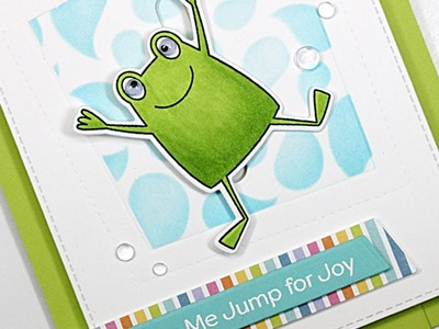 How to Create an Interactive Leap Frog Card