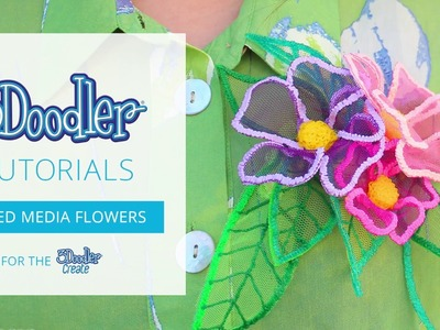 How to Doodle: Mixed Media Flowers