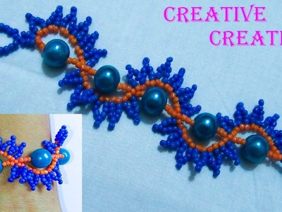 How to make a beautiful Bracelet by Seed Beads