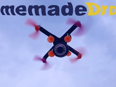 How to Make a Drone [Quadcopter] at Home Easily