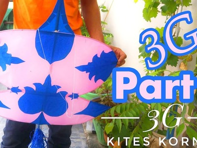 How to make a Kite - 3 Githi Patang - PART 2 - Kites Korner
