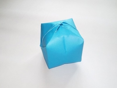 How to Make a Paper Balloon (Water Bomb) - Origami Water Bomb