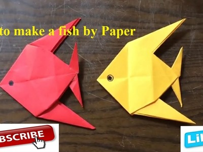 How to make a paper fish