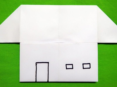 How to make a Paper House (very easy)