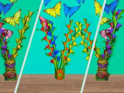 How to make  a paper  tuberose || kagojer rojoni gondha ful || tuberose bouquet || friends masti bd