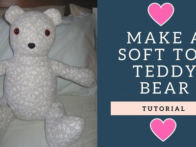 How to Make a Soft Toy Bear - Simplicity 8044