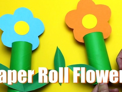 How to Make a Toilet Paper Roll Flower