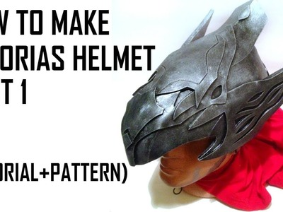 How to make Artorias helmet. Dark Souls tutorial. Part 1