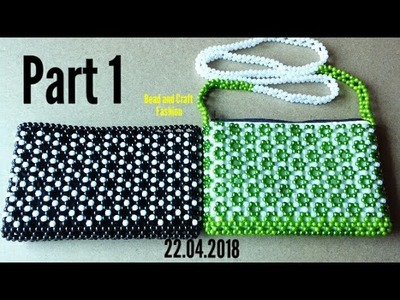 How to make Beaded Bag    Purse    Clutch    Hand bag    Pouch    Crystal Work    DIY    Part 1