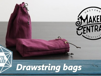 How To Make Drawstring Bags | Gifts For Makers Central