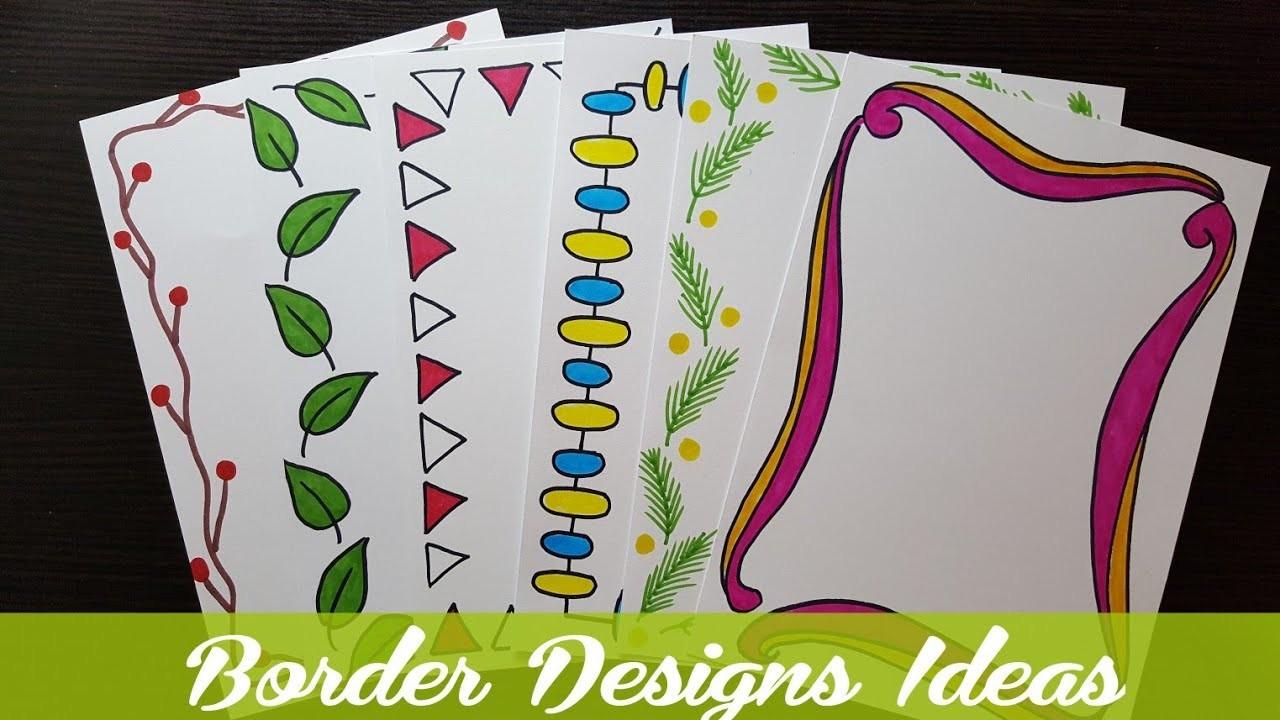 assignment border designs