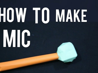 HOW TO MAKE MIC WITH PAPER SIMPLE ||●CREATOR MAN