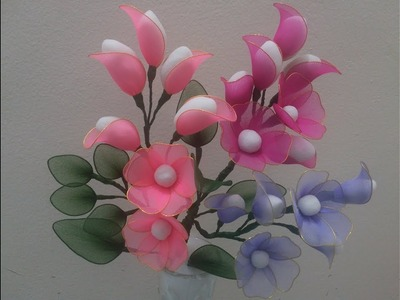 How to make Nylon stocking Flower- Confetti