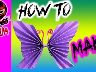 How to make: Paper Butterfly (w. music)