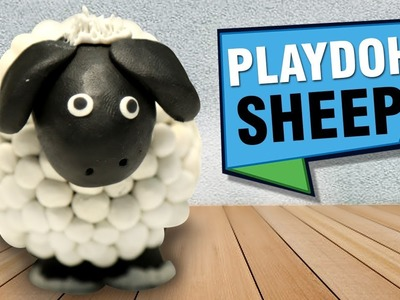 How To Make Play Doh Sheep | DIY Animals Crafts | Play Doh Animals For Kids | Easy DIY Crafts