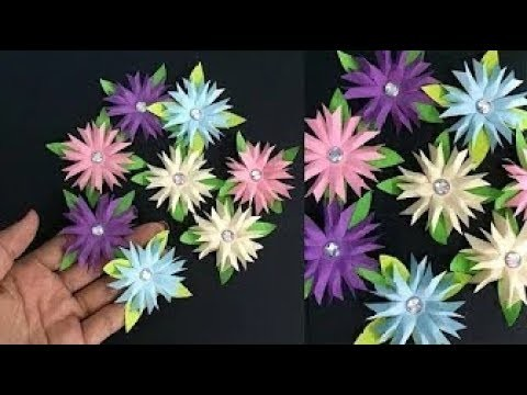 How to make small paper flower making paper flowers step by step how to make small paper flower making paper flowers step by step diy artcraft mightylinksfo