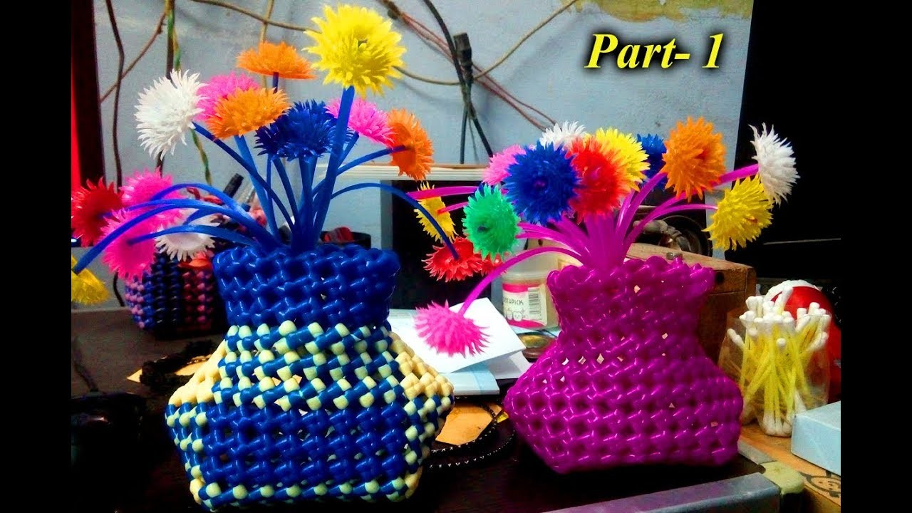 How to put - small flower vase - Part 1