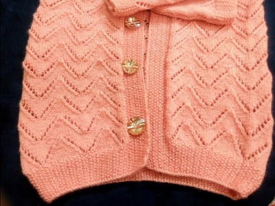 Knitting Pattern for Sweater & Cardigan # 115   in hindi  Satrangi