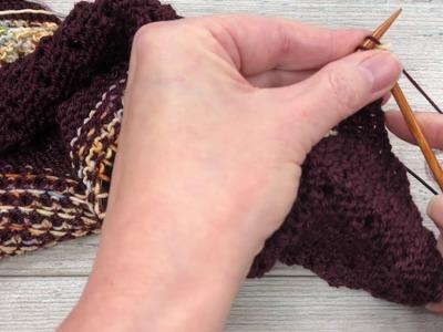 Mosaic Knitting Tutorial
