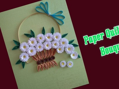 Paper || How to Make Paper Quilling Bouquet || Quilling Design || Siri Art&Craft ||
