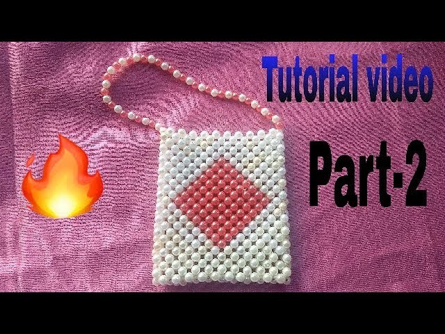 Part-2.How to make beads bag made by Arpita creation