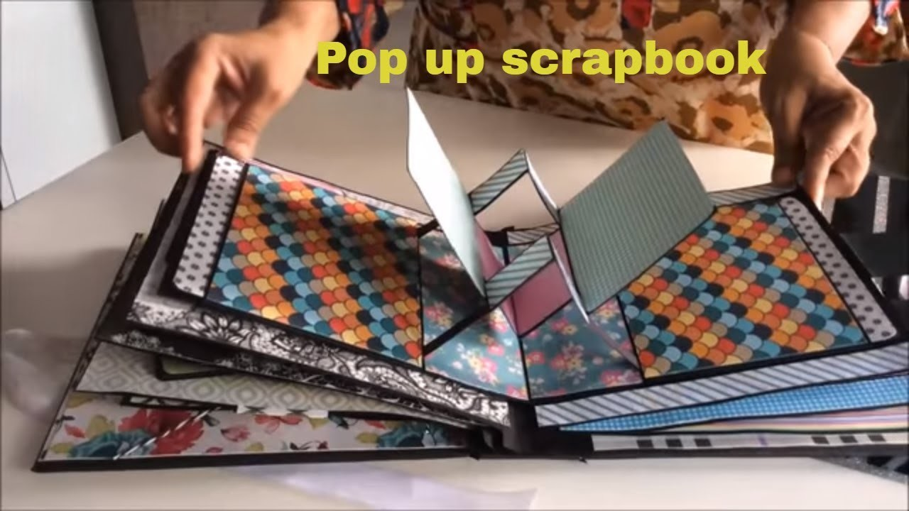 Pop Up Scrapbook Ideasdiy Cutest Birthday Scrapbook Ideas