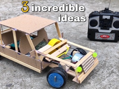 3 incredible ideas and Amazing DIY Toys