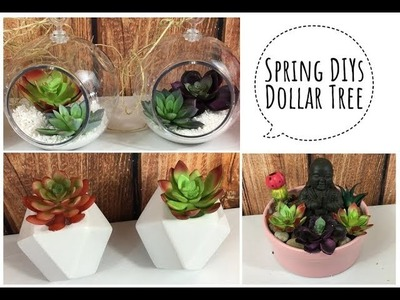 3 SPRING DIY | Dollar Tree | Part 1 of 4
