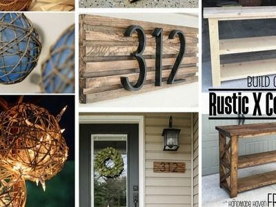 ???? 5 DIY Cheap Rustic Home Decor Projects Worth Trying without Breaking a Sweat ????