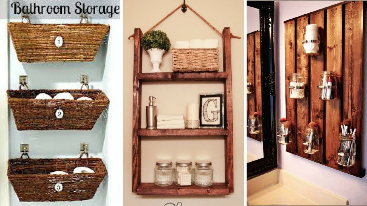 ???? 5 DIY Rustic Home Décor for a Small and attractive Bathroom ????