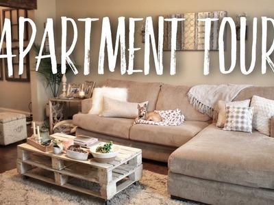 APARTMENT TOUR | home decor + DIY