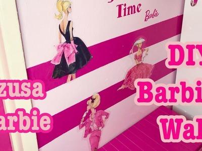 DIY Barbie Wall♡ Azusa Barbie
