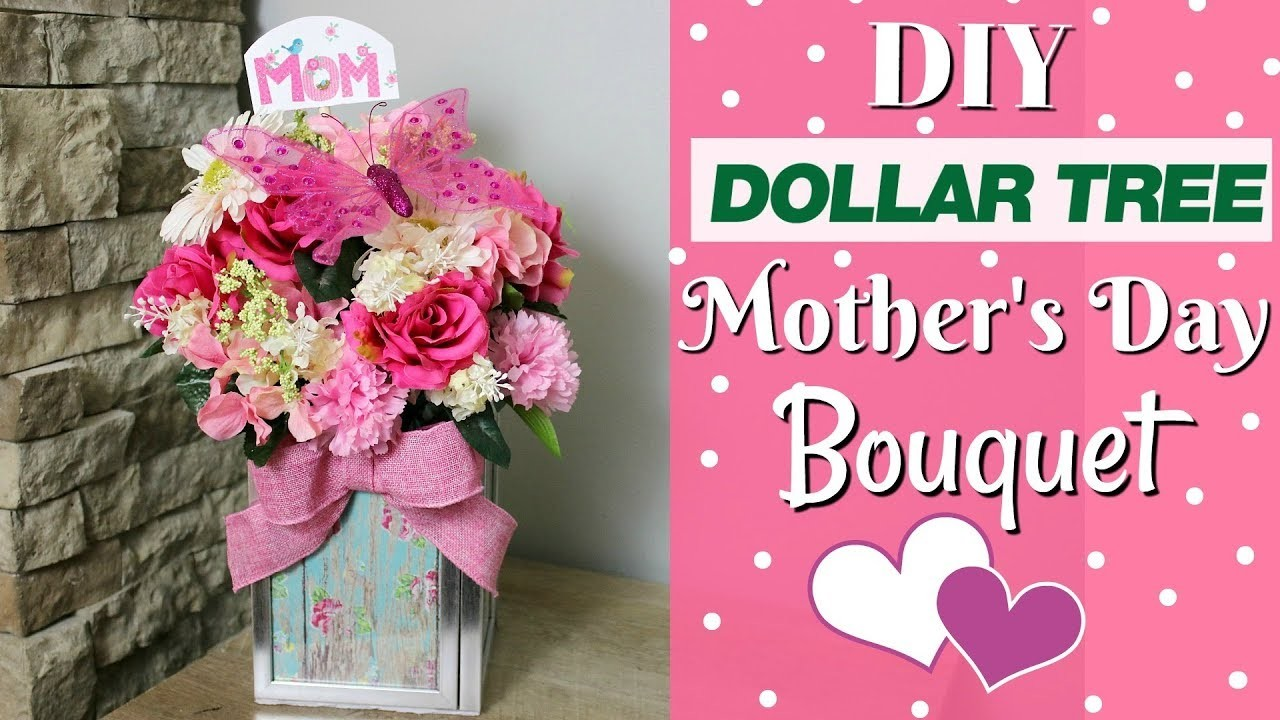 ????DIY Dollar Tree Mother's Day Bouquet | Mother's Day DIY Gift Idea
