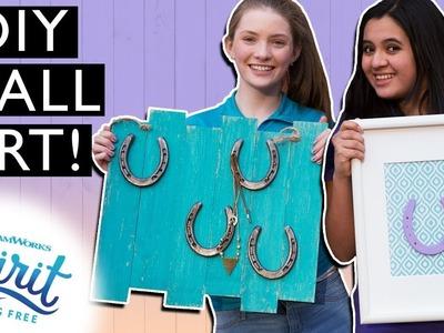 DIY Equestrian Wall Art! Horseshoe Jewelry Holder & Framed Horseshoe | THAT'S THE SPIRIT
