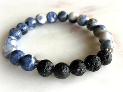 DIY Essential Oil Diffuser Bracelet