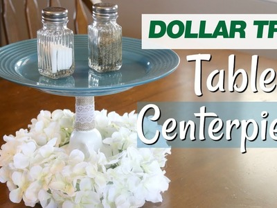 DIY Farmhouse Table Centerpiece | Dollar Tree Farmhouse Decor