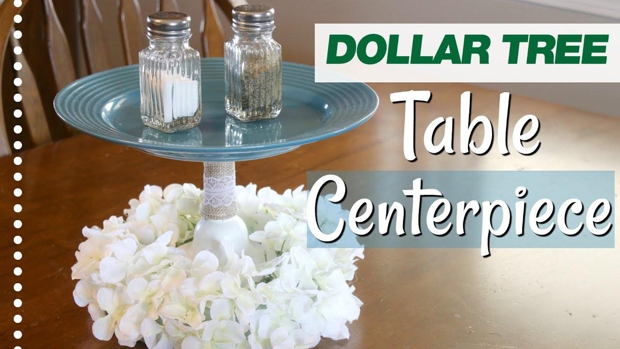 DIY Farmhouse Table Centerpiece   Dollar Tree Farmhouse Decor