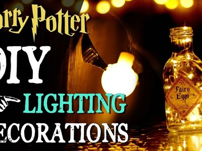 DIY Harry Potter Lighting Decorations with Oak Leaf LED Lights!