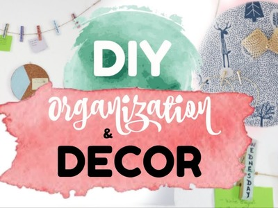 DIY Organization Ideas & Room Decor for Spring | Owlipop