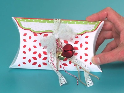 DIY Sizzix Big Shot Plus Value Kit Holiday Pillow Box