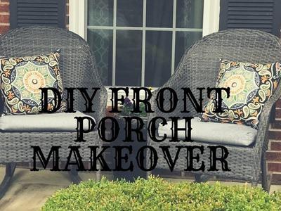 DIY SPRING FRONT PORCH MAKEOVER|FARMHOUSE DECOR